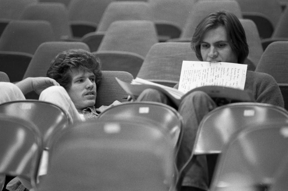 1978 Richard Rodgers rehearsal