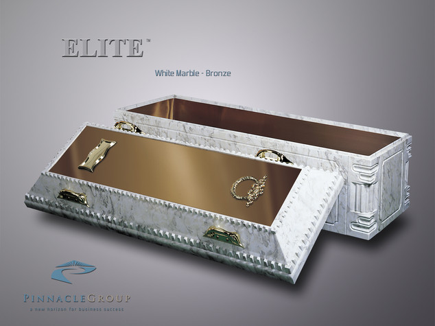 Elite White Marble-Bronze