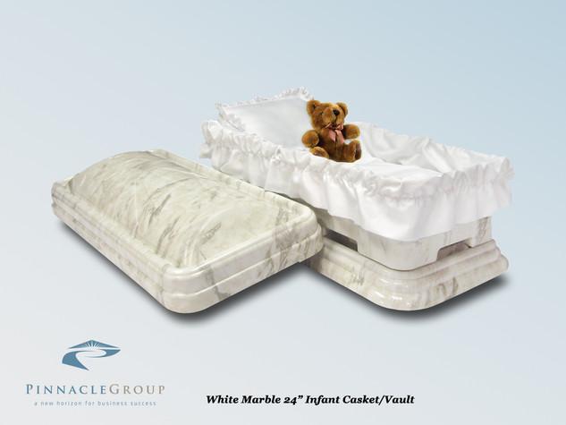 White Marble 24 Infant