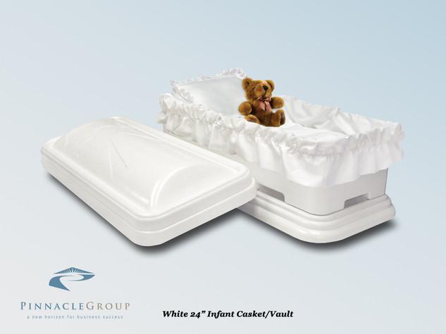 White 24 Infant