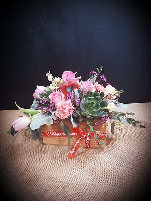 Boxed Blooms of Love