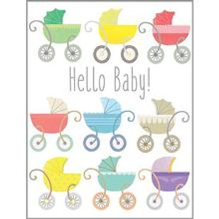 Greeting Card New Baby