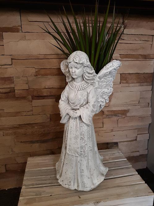 Angel stone plant holder