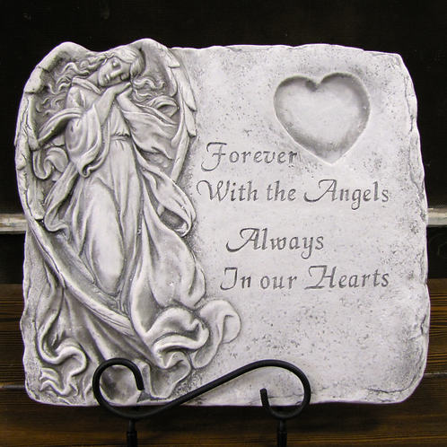 Forever With Angels Garden Stone