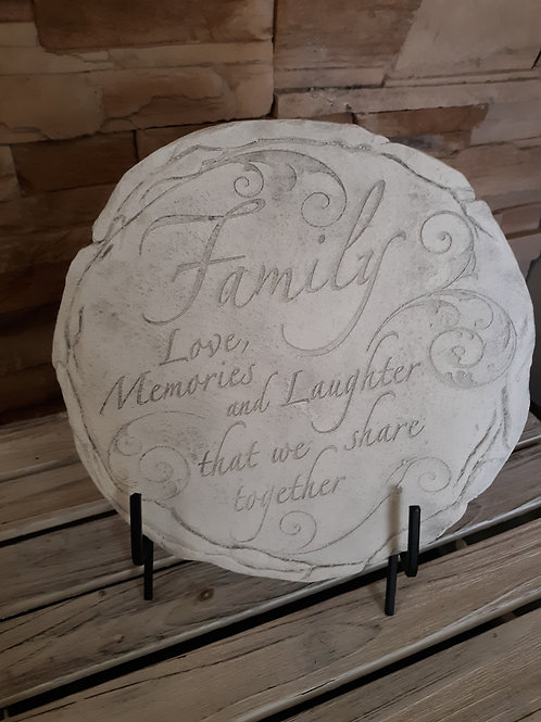Stepping stone with stand - Family