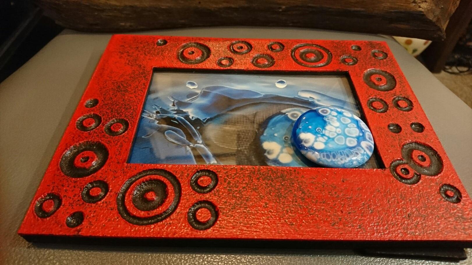 がらすや・じゅ chanto... ガラス作品 海の欠片と海月2