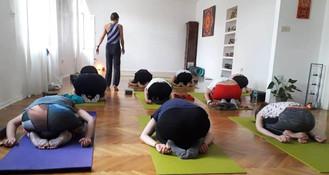 Katarina teaching - The House of Dharma.