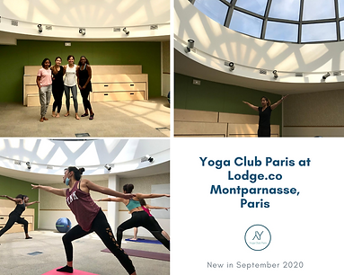 Yoga Club Paris at Lodge.co Montparnasse