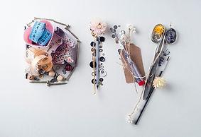 Different craft materials