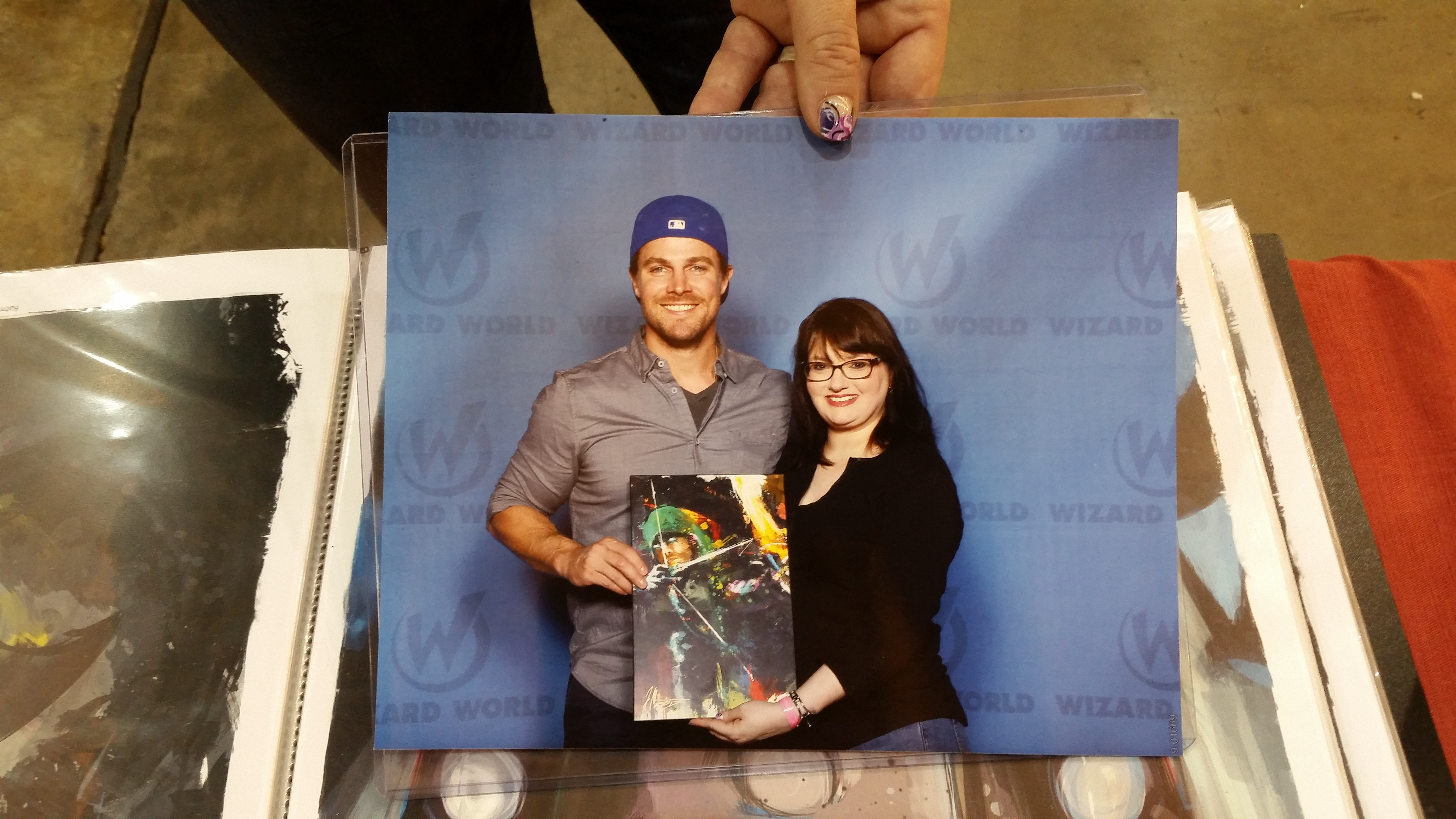 stephen amell signed arrow