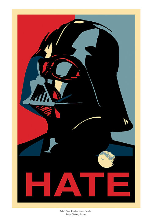 Vader Campaign Poster