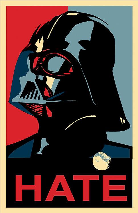 Mdf Mounted Vote Vader