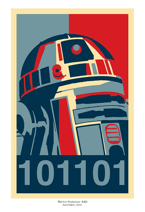 R2D2 Campaign Poster