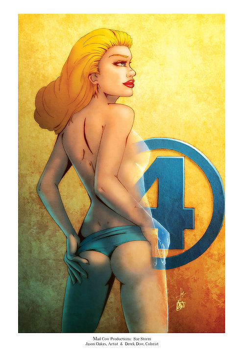 Sue Storm (Pin up)