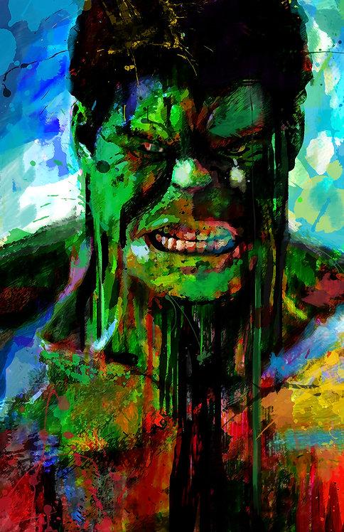 Mdf Mounted The Hulk