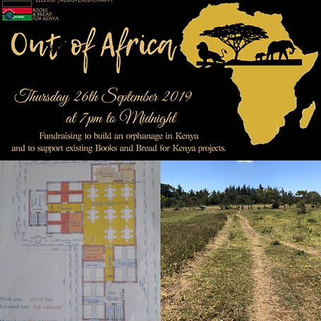 Fundraiser to build an orphanage in Kenya