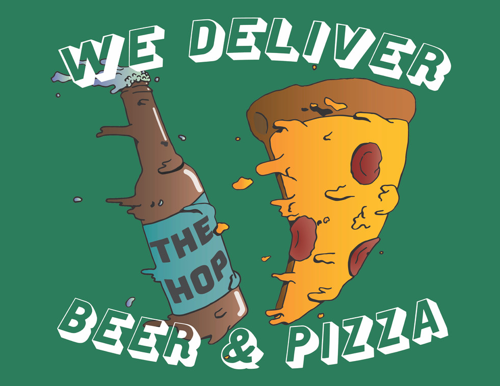 The Hop Craft Pizza and Beer Delivery