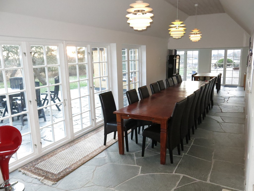 Ryethojgaard bnb dining room