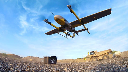 VOLY C10 drone_Taking Off at Constructio
