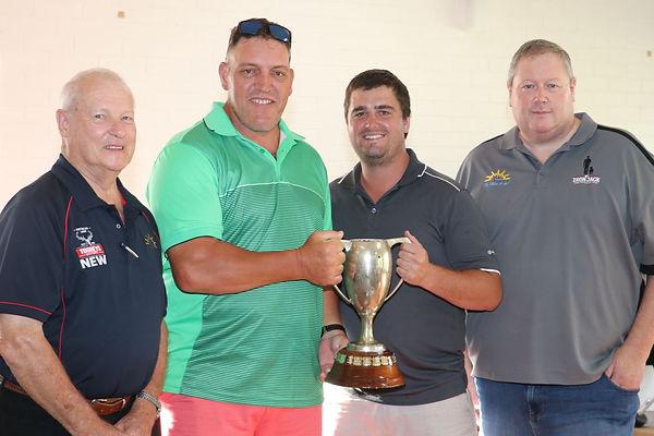 82 Sapphire Cup winners Scottt Saunders