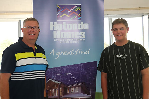 83 Hotondo Homes winners Jason & Lachlin