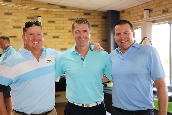 Sponsors Simon Green, Matt Sutton & Davi