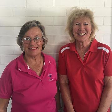 Helen Edwards and Julie Clark 4BBBstroke