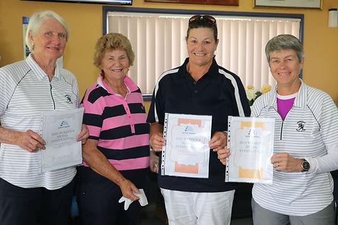 Jenny Western, Lyn O'Brien, Jennifer Tie
