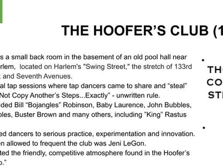 THE HOOFERS CLUB