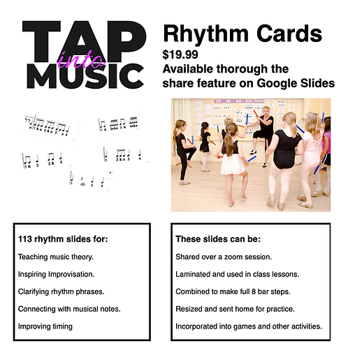 Rhythm Cards-Digital Download