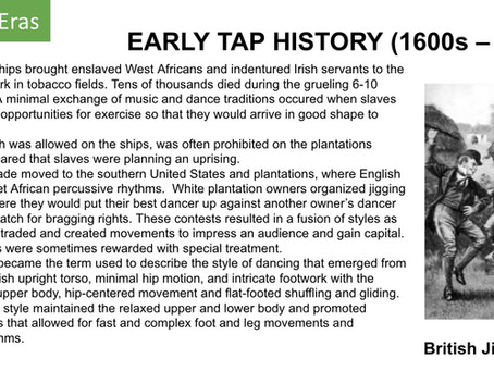 EARLY TAP HISTORY (1600s – 1830s)