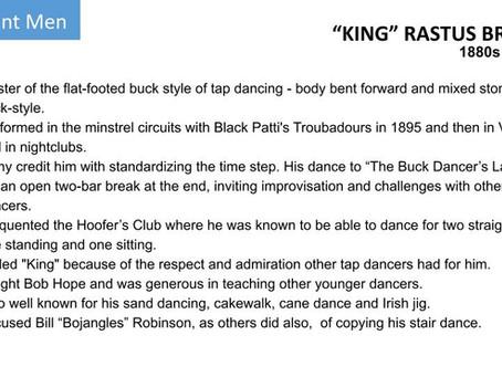 """""""KING"""" RASTUS BROWN"""