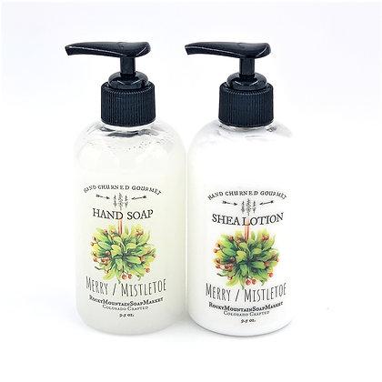 'Merry Mistletoe' Soap +Lotion Set