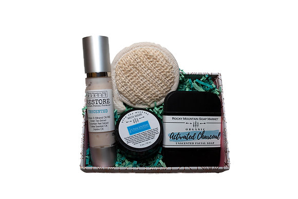 Unscented, Sensitive-Skin Gift Set