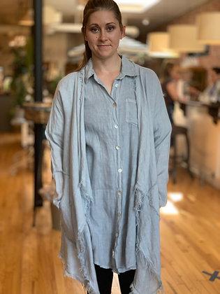 Linen Robe Jacket