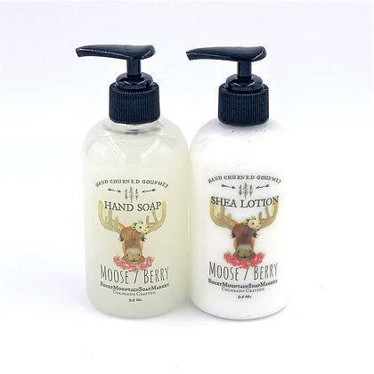 'Moose Berry'  Soap + Lotion Set