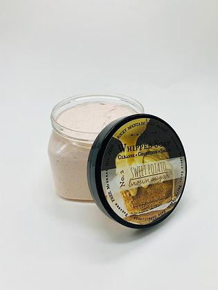 Sweet Potato Brown Sugar Whipped Soap