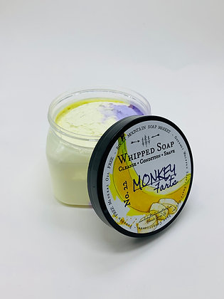 Monkey Farts Whipped Soap