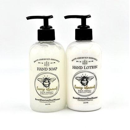 'Honey Almond' Soap + Lotion Set