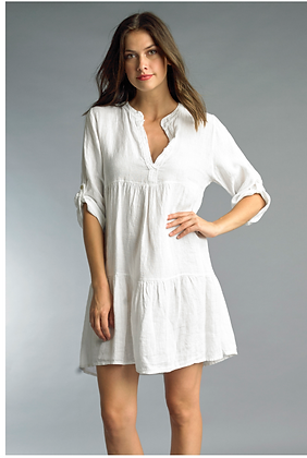 Linen Baby Doll Tunic