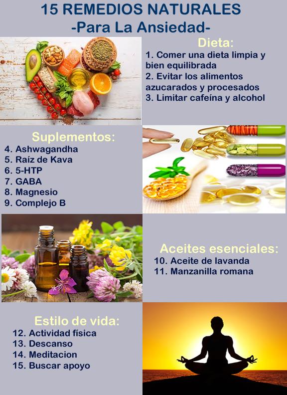 Productos naturales para la ansiedad por comer