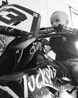 Tell me again dad how to start this thing!  #EST2013 #FOREVER #BMX #motorcross #clothing #L13 #frees
