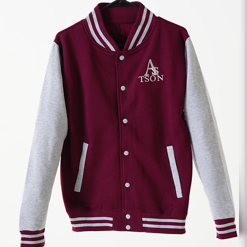 *JV Jacket Burgundy/Grey