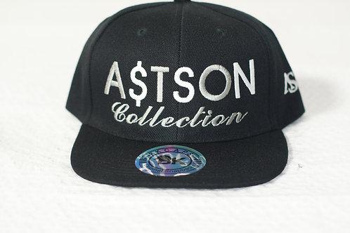 A$TSON Snapback Hat (Black)