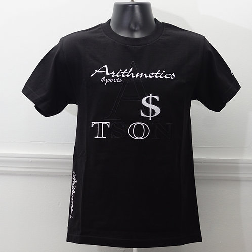 The Brand TEE  (White on Black)