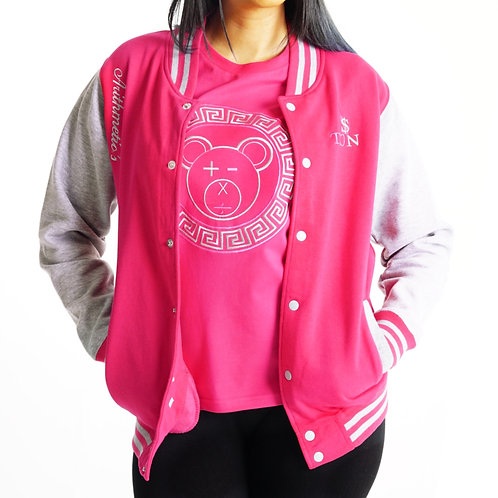 * JV Jacket (Pink/Grey) & Matching Shirt