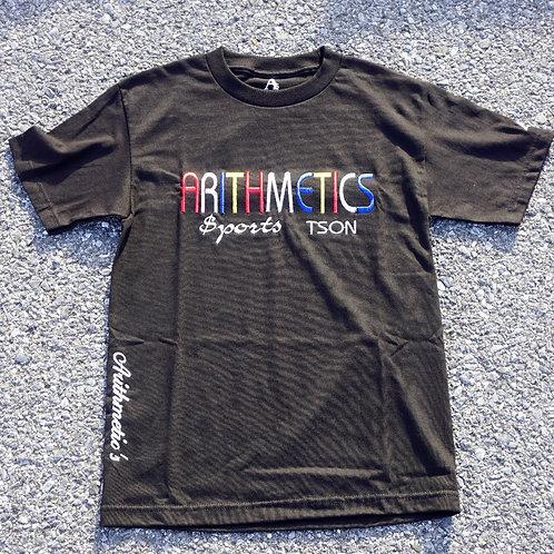 Arithmetics colors Tee (Colors on Black)