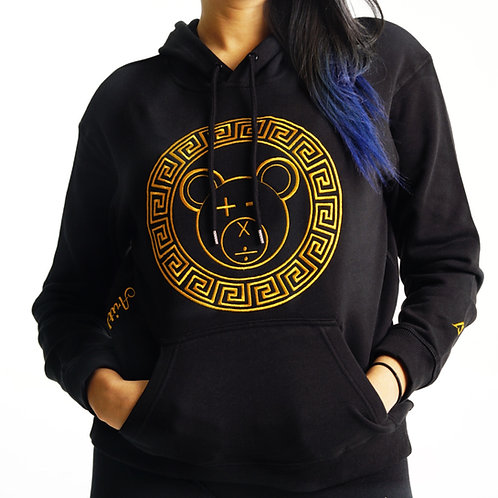 A Bear Premium Hoodie (Gold on Black)