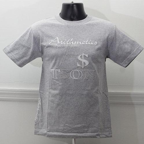 The Brand TEE  (White / Grey on Grey)