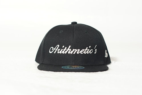 Arithmetic's Snapback Hat (Black)